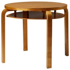 Occasional Table Designed by Alvar Aalto for Artek, Finland, 1930s