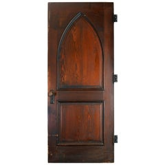 Gothic Oak Arched Door
