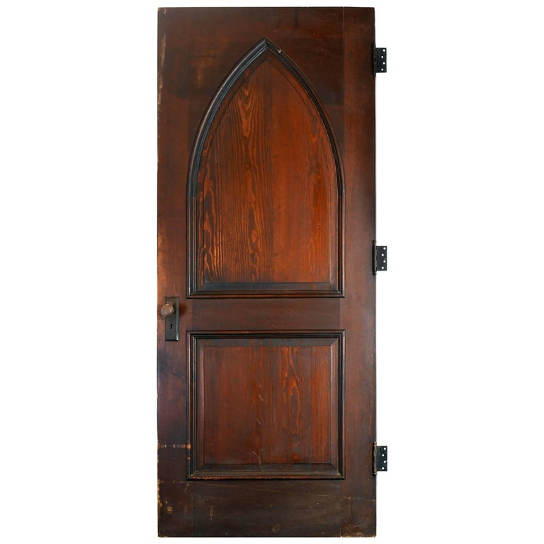 Medieval Front Doors: Gothic Oak Arched Door At 1stdibs