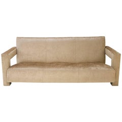 Original Utrecht Sofa Designed by Gerrit Rietveld, circa 1940, Netherlands