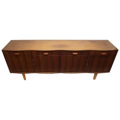 Gordon Russell. Designer WH Russell a Rosewood & Mahogany 'Burford' Dining Suite