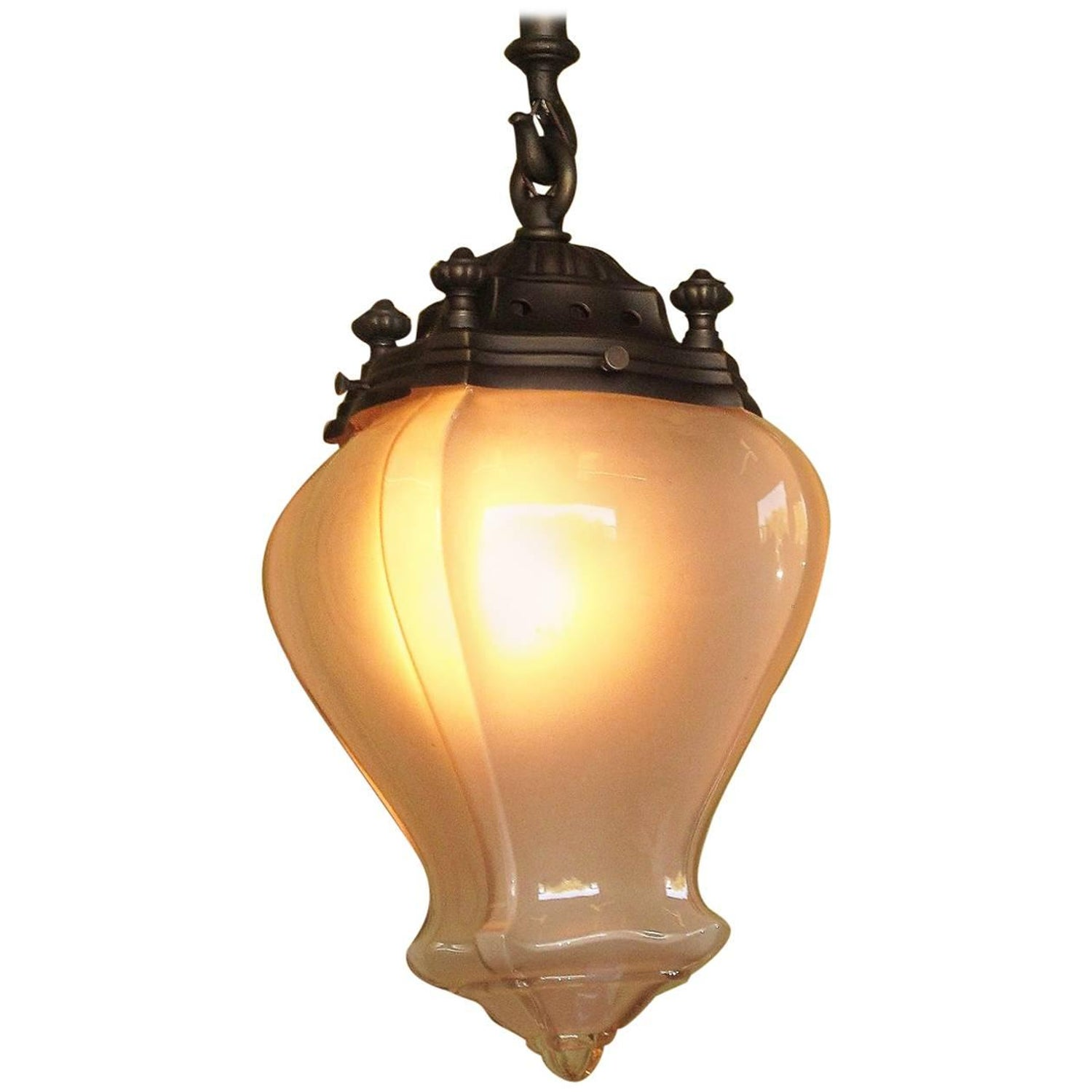 Large 1900 1910 entry fixture for sale at 1stdibs