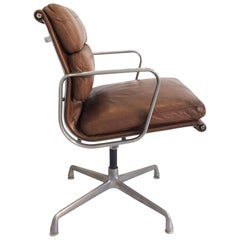 Beautifully Worn and Distressed Herman Miller 1 Eames Soft Pad Chair