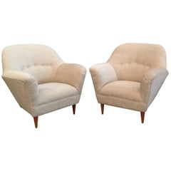 Pair of Armchairs by Ico Parisi