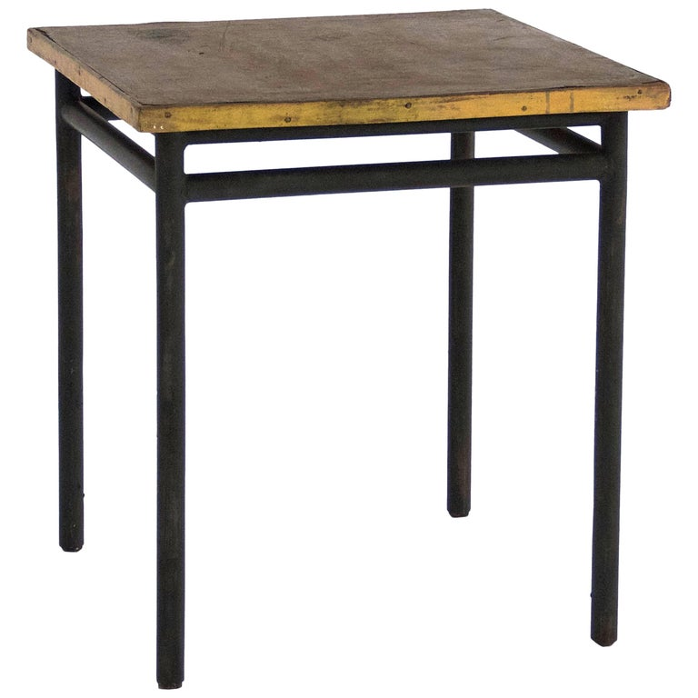 Table designed by le corbusier for 39 la cite du refuge 39 in paris 1929 france for sale at 1stdibs - Archives du doubs tables decennales ...