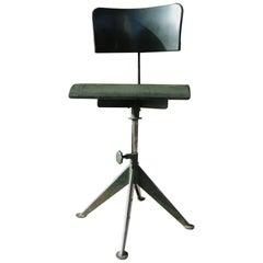 "Odelberg Olson, Chaise D'atelier Modèle ""Work Chair"" Manner Jean Prouve"