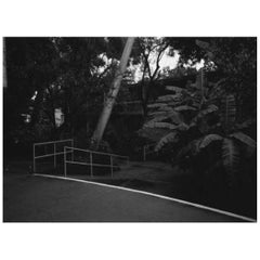 Frame B/W Photo La Landscape by Brazilian Photographer Mauro Restiffe