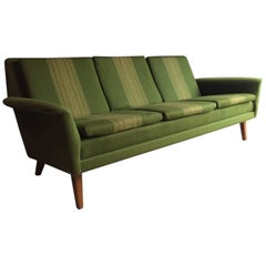 Midcentury Folke Ohlsson Three-Seat Sofa Made by Fritz Hansen for DUX, 1960s