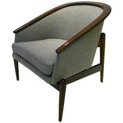Sculptural Mid-Century Modern American Chair