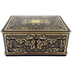 Superb Mid-19th Century French Boulle Box by Tahan, Paris