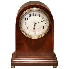 Edwardian Arch Top Timepiece Mantel Clock