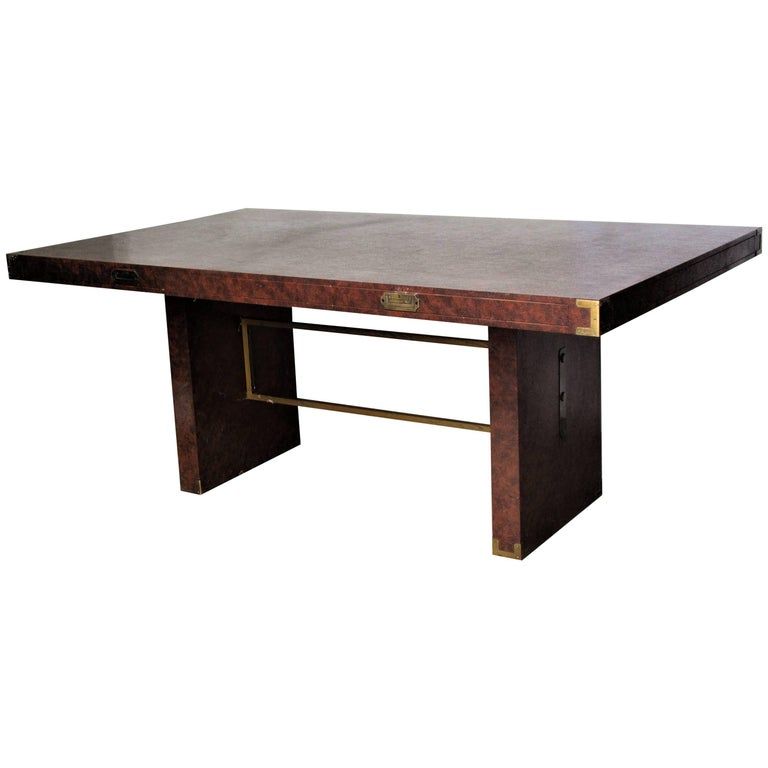 Campaign Style Conference Table For Sale at 1stdibs : 8802793master from www.1stdibs.com size 768 x 768 jpeg 29kB