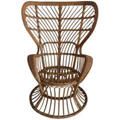 Original Production Armchair by Gio Ponti & Lio Carminati for Bonacina, 1950