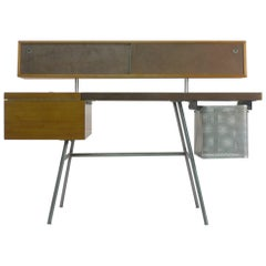 George Nelson Home Office Desk, Vintage Herman Miller, 1950s