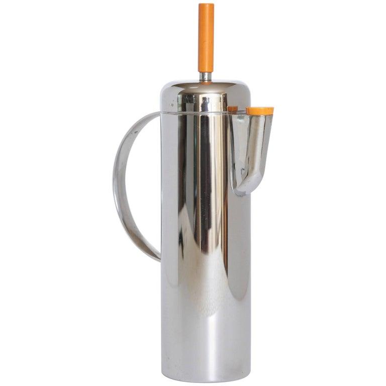 Machine Age Art Deco Empire Cocktail Shaker, William Archibald Welden for Revere
