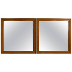 Exceptional Pair of Mirrors by Edward Wormley for Dunbar