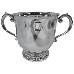 Large Version of Classic Tiffany Sterling Silver Trophy Cup