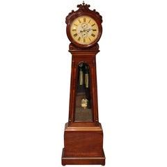 Scottish Drumhead Longcase Clock