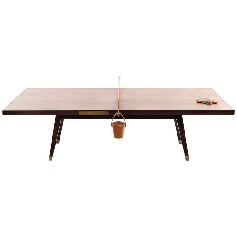 Ping Pong Game Table by Dado Castello Branco For Sale