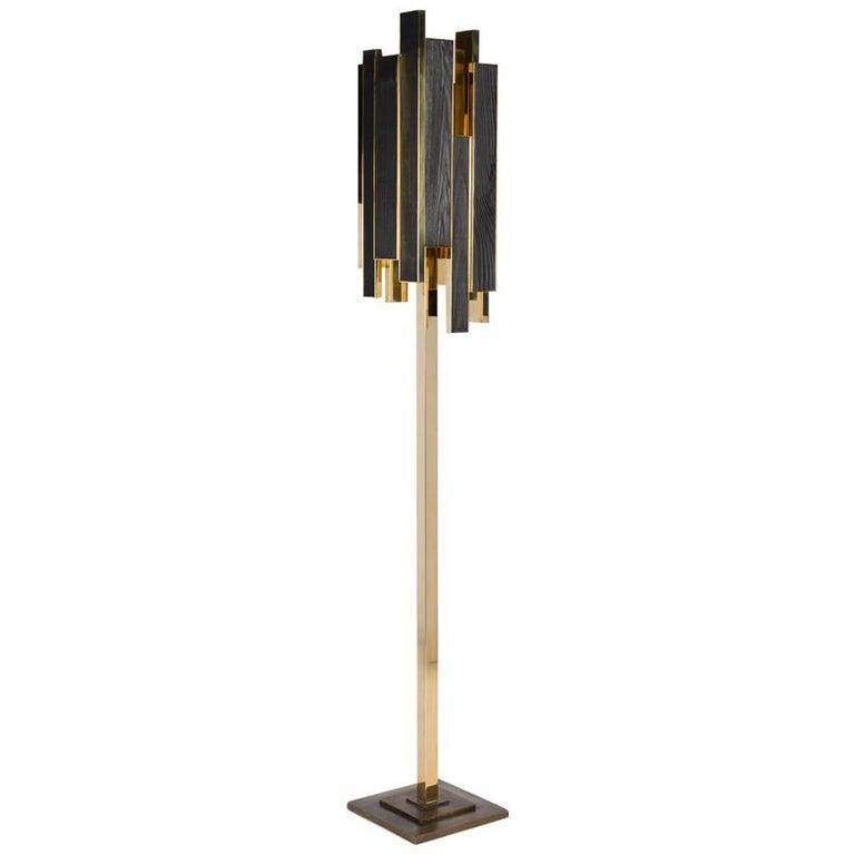 Franck Chartrain, Phoenix, Floor Lamp, France For Sale