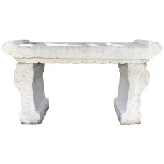 "China Important Carved Stone ""Penjing"" Garden Table, Qing Dynasty '1644-1911'"