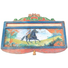 19th Century Hand-Painted Circus Rounding Board