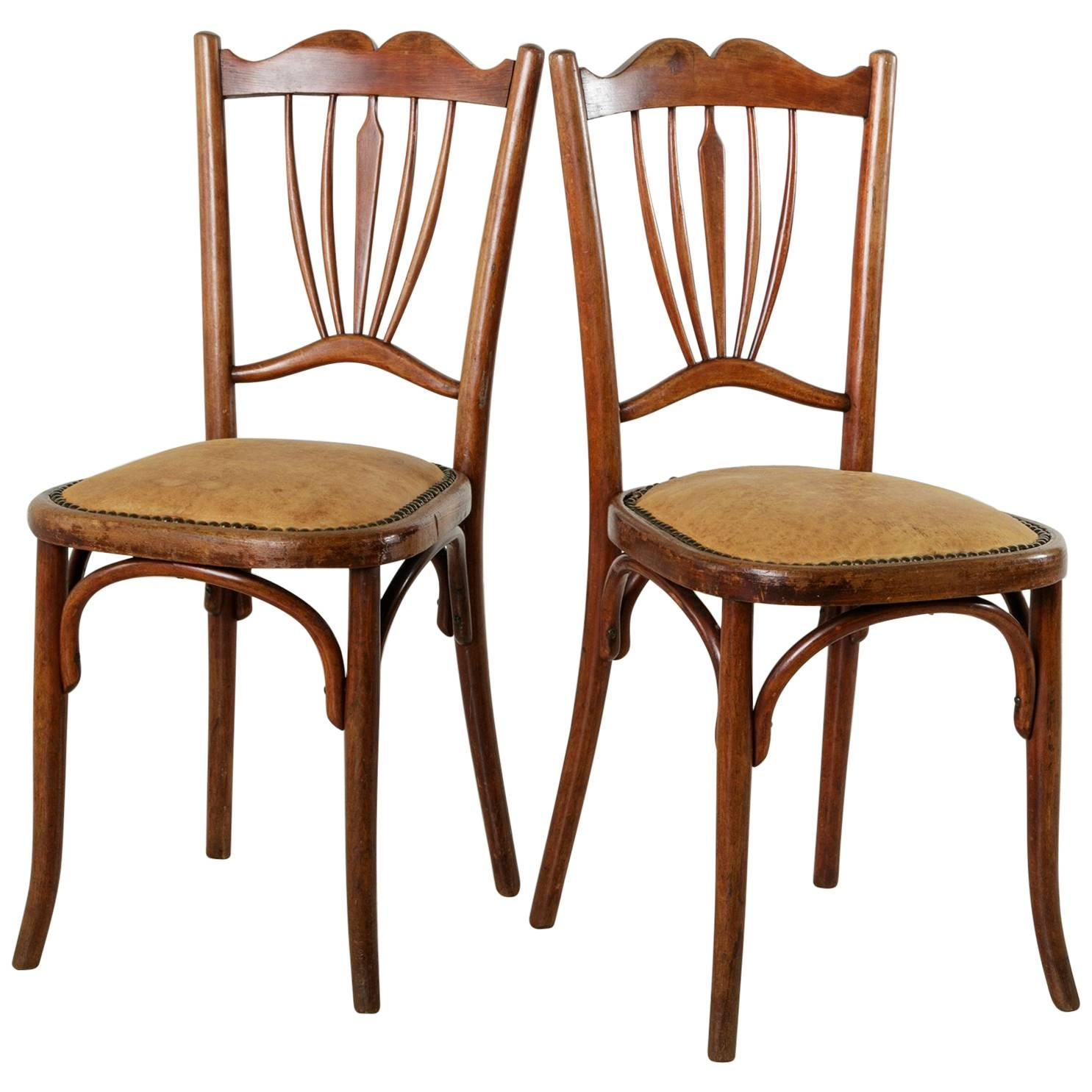 Art deco period furniture Chairs Pair Of Early 20th Century French Art Deco Period Bentwood Thonet Bistro Chairs For Sale Pinterest Pair Of Early 20th Century French Art Deco Period Bentwood Thonet