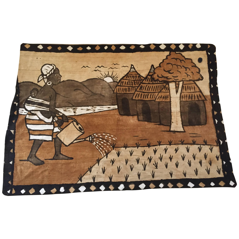 Korhogo Handwoven Mud Cloth Ivory Coast Africa