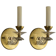 LIGHTING SALE 50% OFF Pair of  Mid Century Sconces(2pair available)