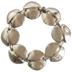 Georg Jensen Sterling Silver Bracelet No. 270 by Henning Koppel