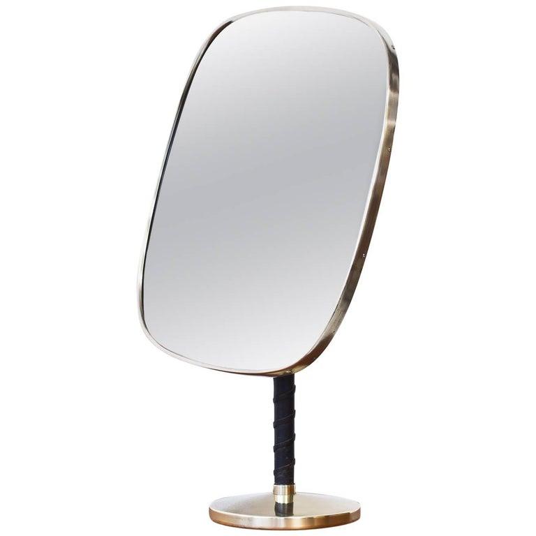 1950s Table Mirror by Nordiska Kompaniet