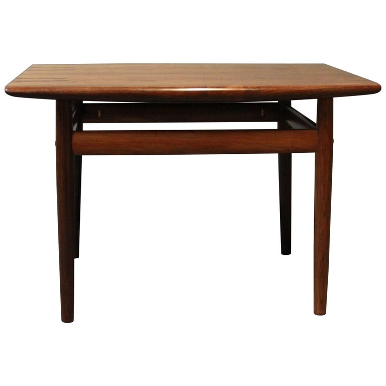 Side Table in Rosewood of Danish Design from the 1960s