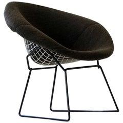 Diamond Wire Side Lounge Armchair by Bertoia Knoll International, Midcentury