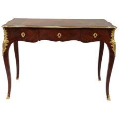 Small Louis XV Style Marquetry Desk, circa 1880