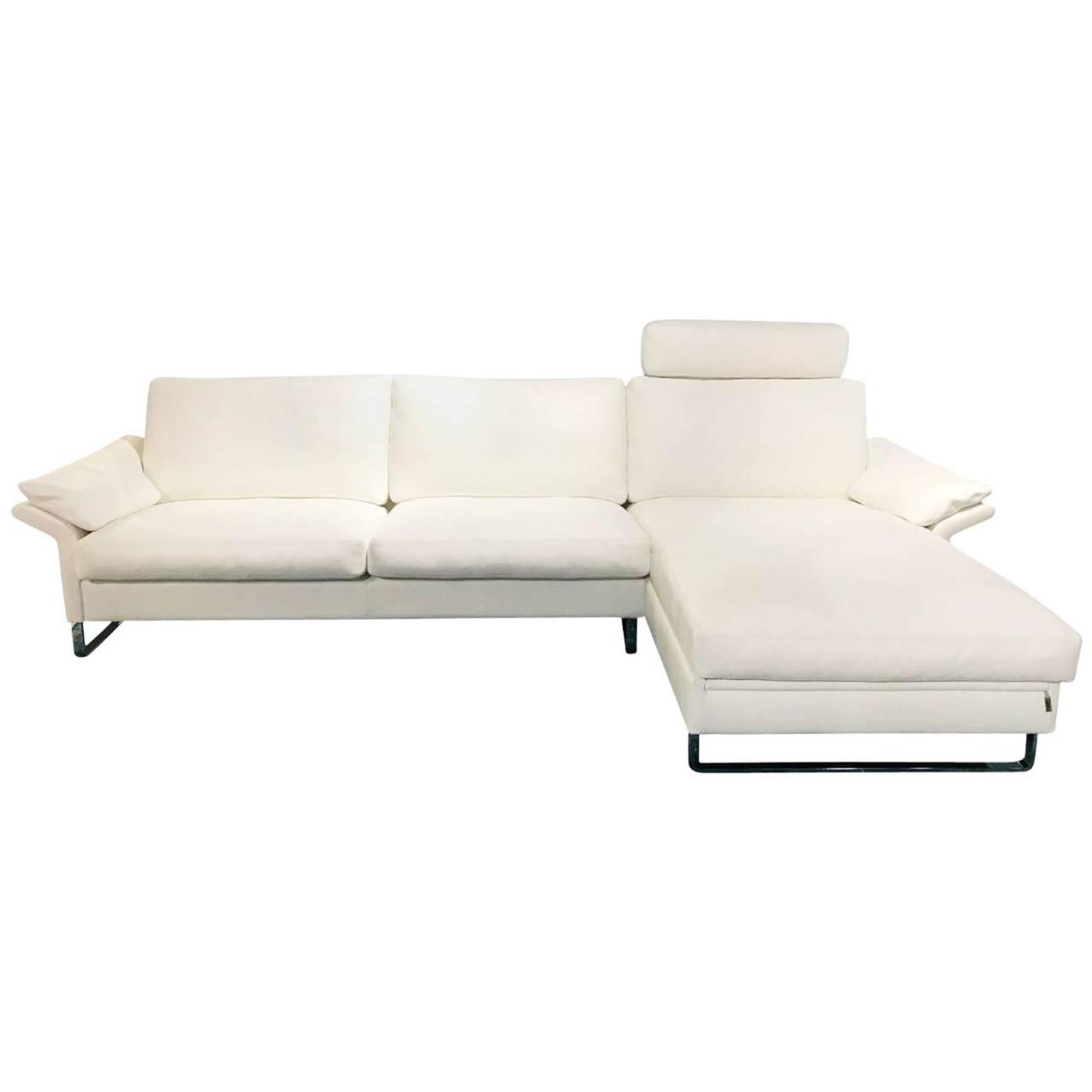 Sofa classics cl 960 by manufacturer erpo in white genuine sofa classics cl 960 by manufacturer erpo in white genuine leather for sale at 1stdibs parisarafo Choice Image