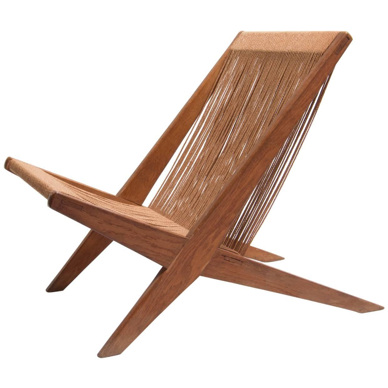 Poul Kjaerholm And Jørgen Høj Snedkerier Lounge Chair 1