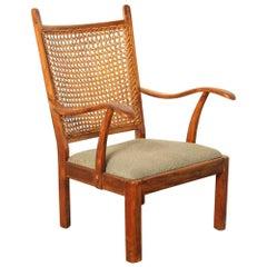 Gelderland Chair with Rattan Back