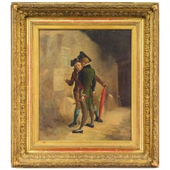 18th Century French Revolution Painting