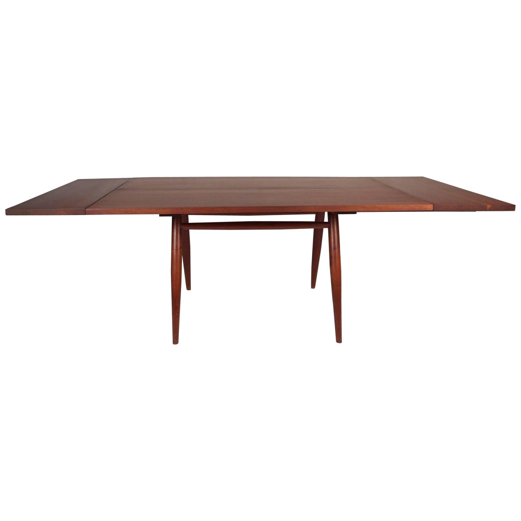"""George Nakashima """"Directors"""" Dining Table with Extensions"""