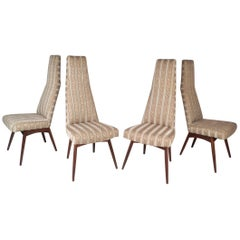 Set of Four Mid-Century Modern Dining Chairs by Adrian Pearsall