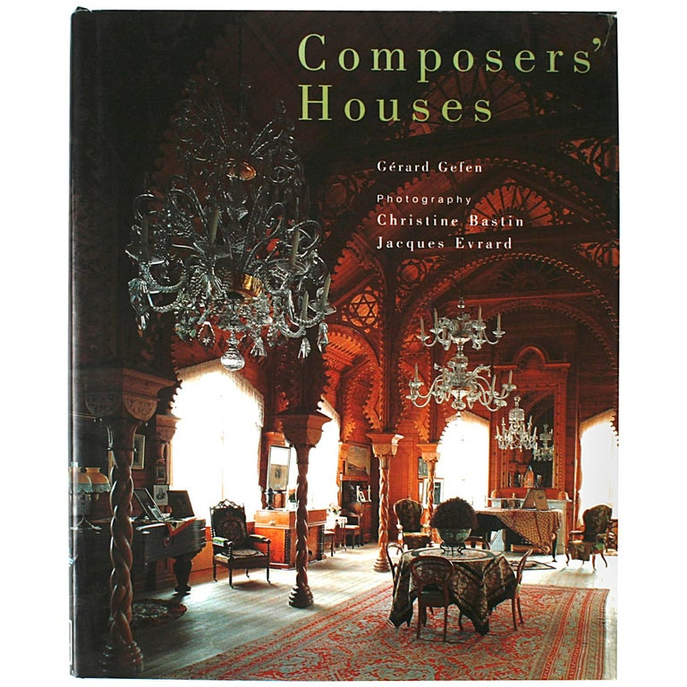 Composers' Houses by Gérard Gefen, First Edition For Sale