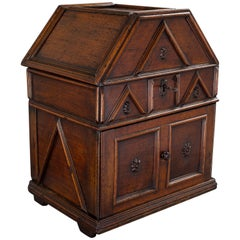Late 16th or 17th Century Walnut Table Cabinet