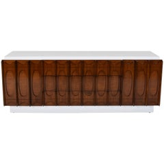 Mid-Century Modern Lacquered Broyhill Credenza