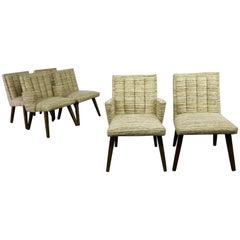 Architectural Modern Dining Chairs by Morris of California Mid-Century Modern