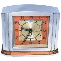 French Art Deco Alarm Clock by JAZ