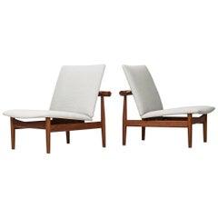 Finn Juhl FD-137 / Japan Easy Chairs by France & Daverkosen in Denmark