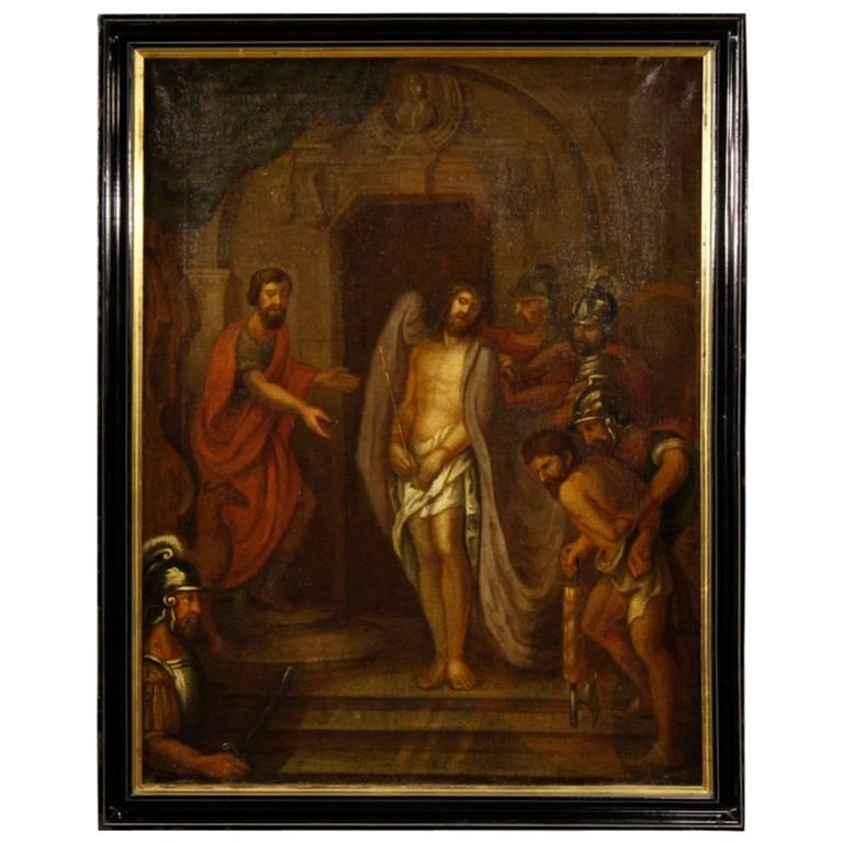 18th Century French Religious Painting Passion of Christ