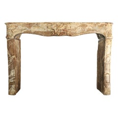 Antique Marble Fireplace, 866