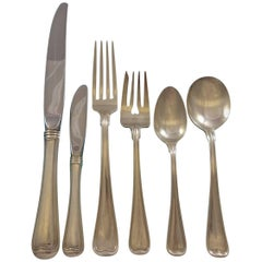 Old French by Gorham Sterling Silver Flatware Set for 8 Service 49 Pieces Dinner