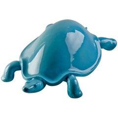 "Ugo La Pietra, ""Tartaruga"" Ceramic Sculpture, Superego Editions, Italy"